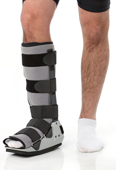 Non-Surgical Treatment for a Lisfranc Injury