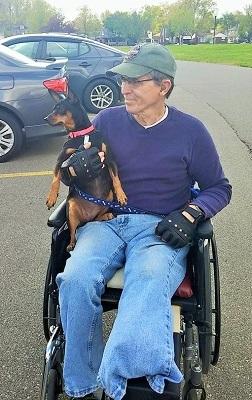 Steve In Wheelchair Small