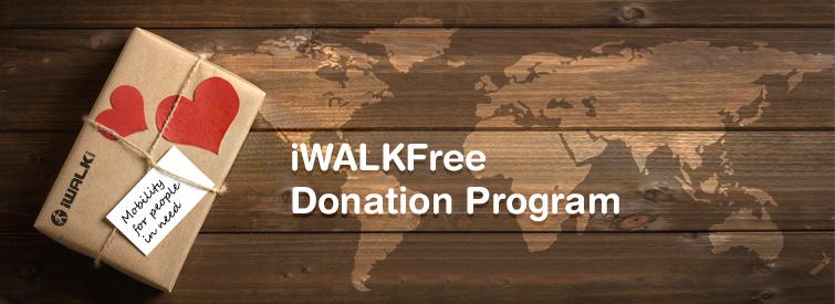 iWalkFREE donation program