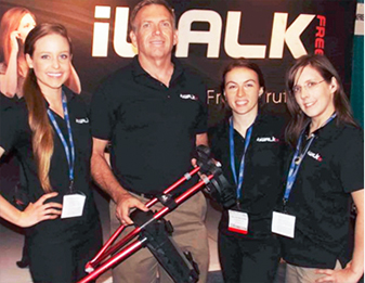 iWalkFREE at the Medtrade Show 2013