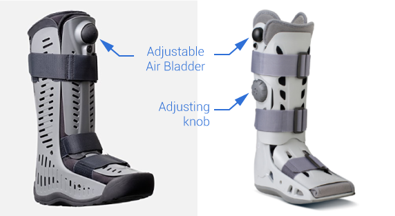 Boot-with-air-bladder