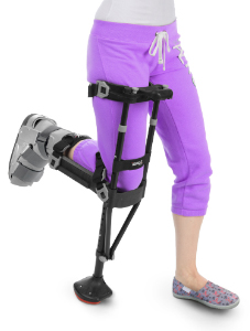 The iWALK2.0 is a hands free and pain free crutch that provides a non-weight bearing option for your plantar fascia rehabilitation.