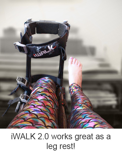 Foot-Amputation Recovery-Alina-Stretch-iWALK