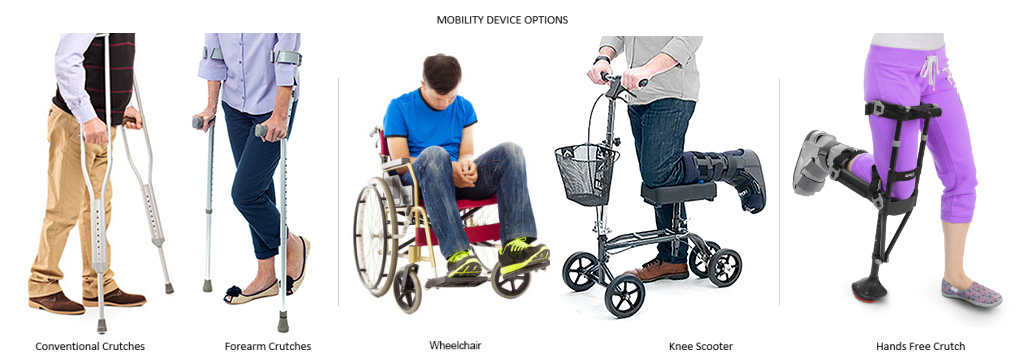 Mobility Device Options for RSD CRPS